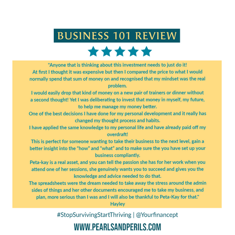 Business 101-Hayley