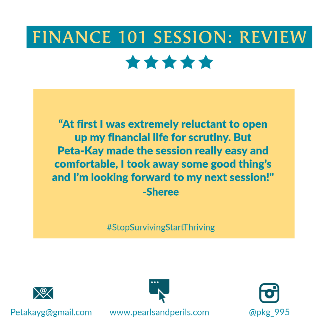 Sheree's Finance 101 review