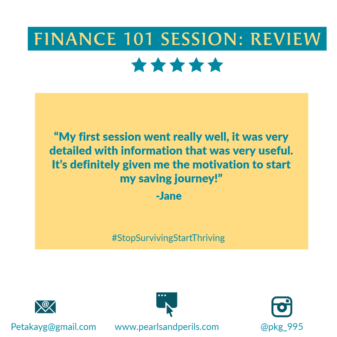 Jane's Finance 101 review