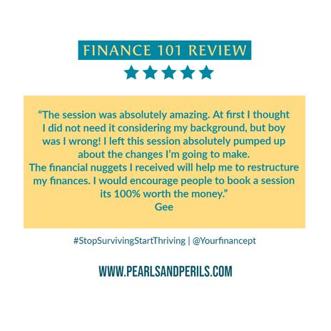 Finance 101-Gee