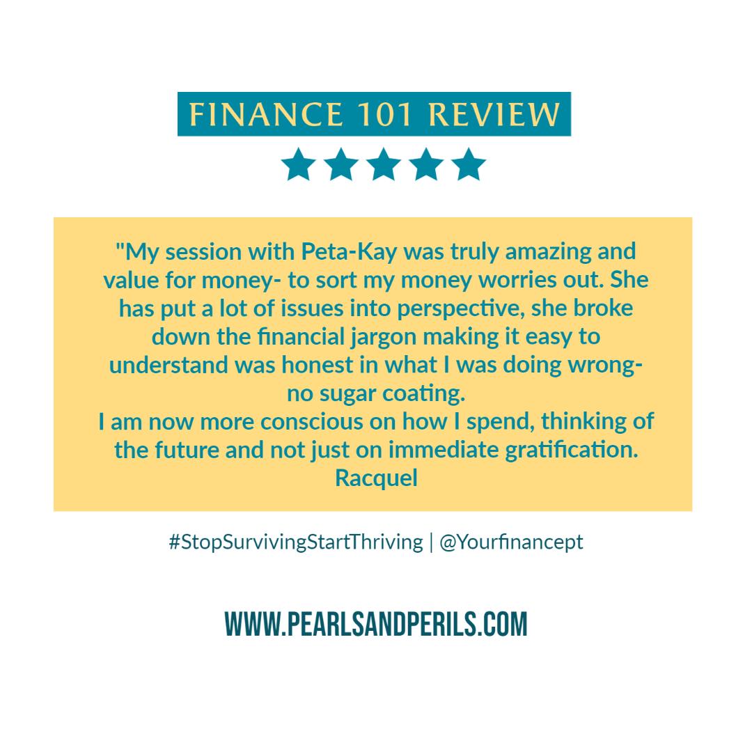 Finance 101-Racquel
