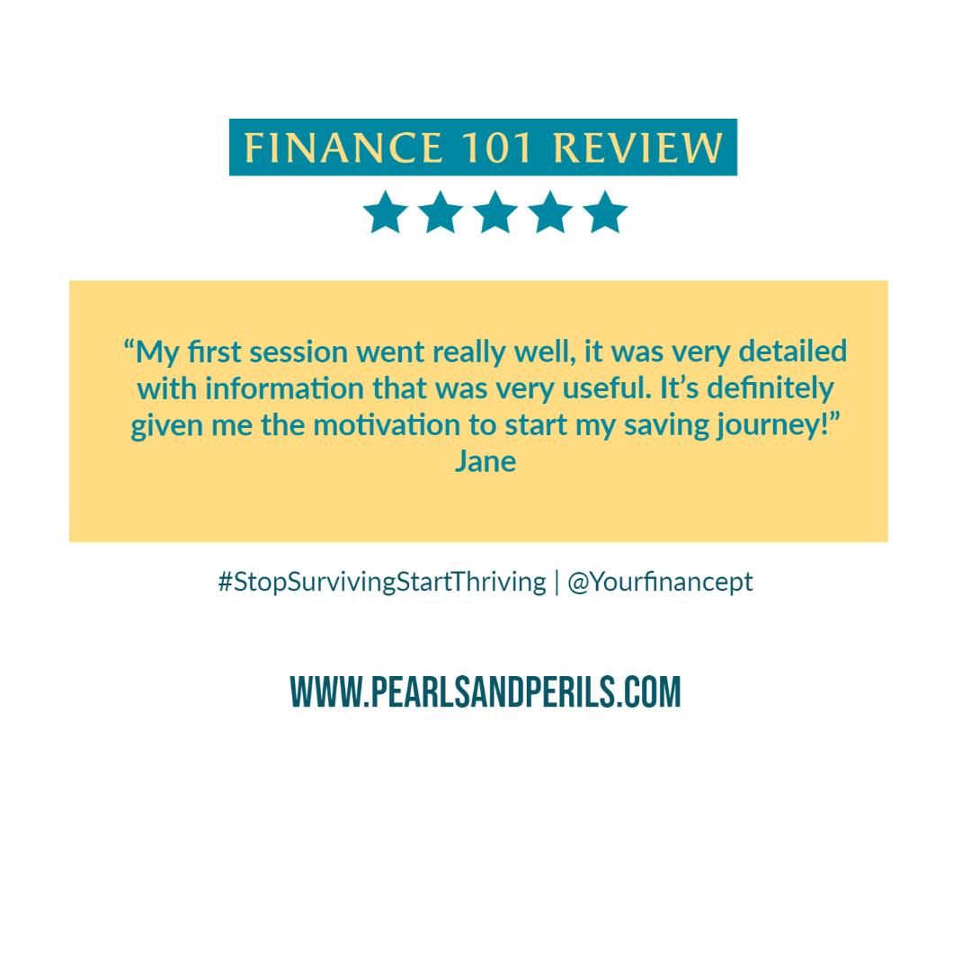 Finance 101-Jane