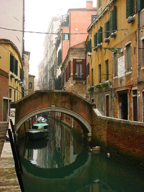 The Bridge of Breasts in Venice
