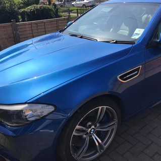 Exterior detail - paint correction and application of carnauba wax