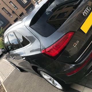 Silver valet, chemical decontamination and carnauba wax applied
