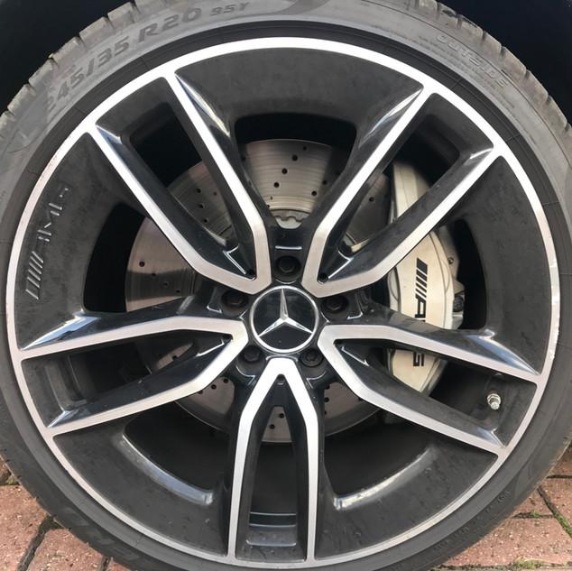Dirty wheel