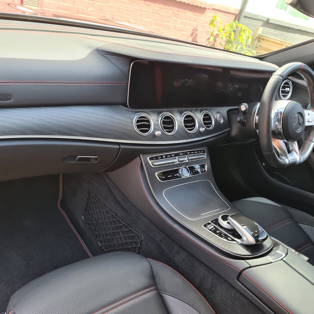 Interior looking nice and fresh