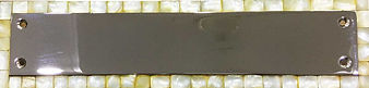 """HANDCRAFTED 12"""" PUSH PLATE MOTHER OF PEARL  COLLECTION"""