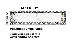 TECHNICAL SPECIFICATION PUSH PLATE