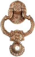 HANDCRAFTED NEPTUNE DOOR KNOCKER HEAVY