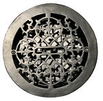 Cast Iron Floor Register Round