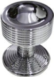 HANDCRAFTED CHROME PLATED MORTICE KNOB HCCK402