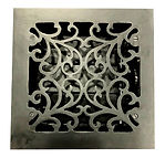 Cast Iron Floor Register Square