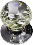 HANDCRAFTED CHROME PLATED MORTICE KNOB HCCK407