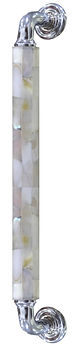 """HANDCRAFTED 12"""" PULL HANDLE MOTHER OF PEARL  COLLECTION"""