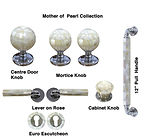 HANDCRAFTED MOTHER OF PEARL  COLLECTION DOOR HARDWARE