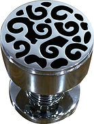 DESIGNER MORTICE KNOB SWIRL COLLECTION