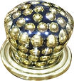 CABINET KNOB BRASS PEARL COLLECTION