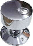 HANDCRAFTED CHROME PLATED MORTICE KNOB HCCK403
