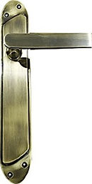 DESIGNER LEVER ON LONG PLATE HCLP1106