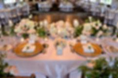 Wedding Belles Decor head table decor fl