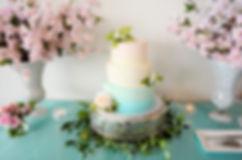 Wedding Belles Decor at LAGO cake table