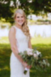 bride with greenery bouquet.jpg
