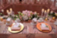 Wedding Belles Decor head table florals