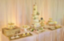 cake table rustic romantic blush.JPG
