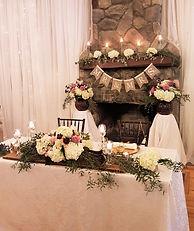 Wedding Belles Decor Head Table Elegant