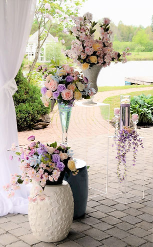 Orchard View Pastel Ceremony Wedding Bel