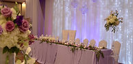 Wedding Belles Decor head table king and
