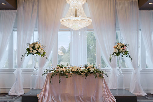 Orchardview wedding reception backdrop d