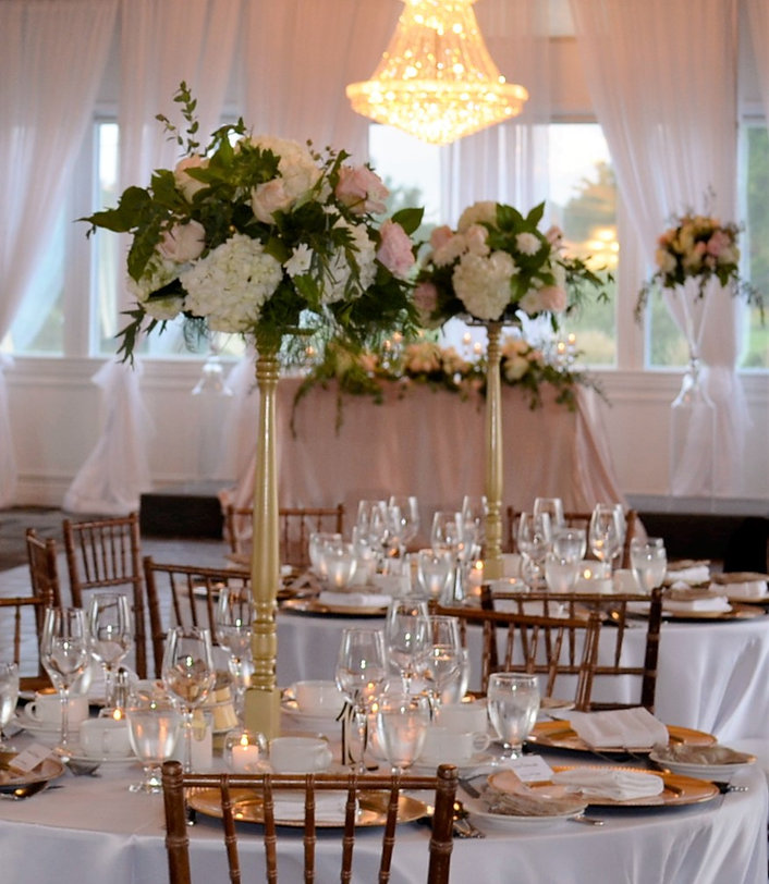 Wedding Belles Decor tall centerpieces g