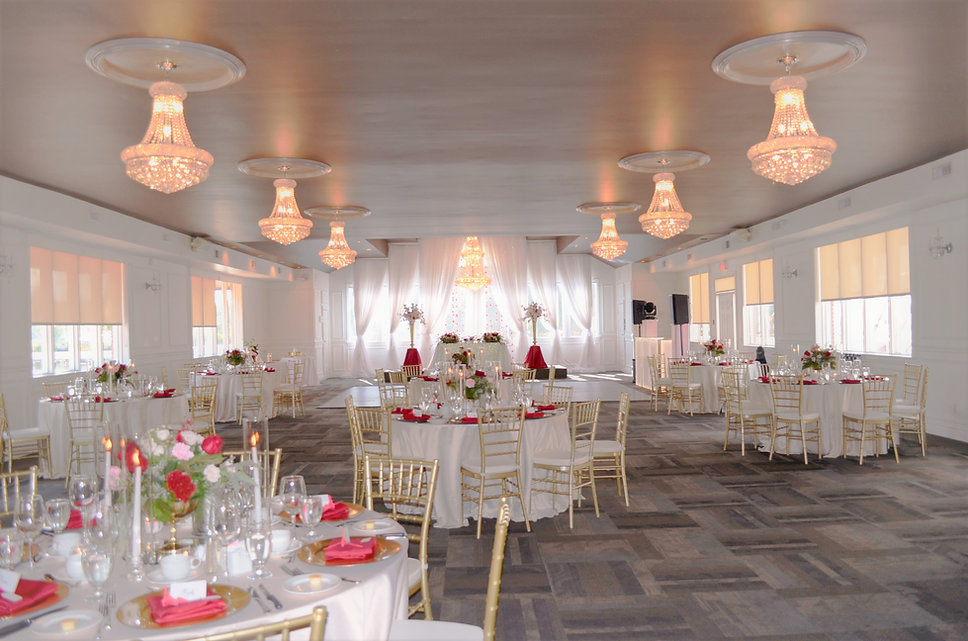 lakeview room orchardview by wedding  belles decor red and gold.JPG