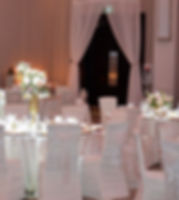 Wedding Belles Decor draping at Infinity