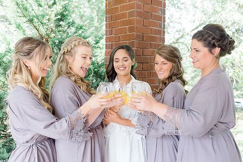 Bride and bridesmaids cheering lr.jpg