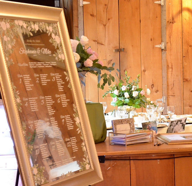 Wedding Belles Decor at Strathmere Seati
