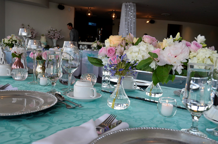 Wedding Belles Decor at LAGO head table