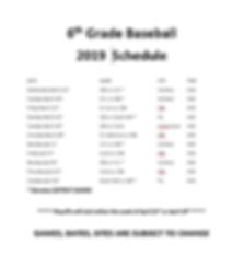 2019 6th Grade Baseball Sked.PNG