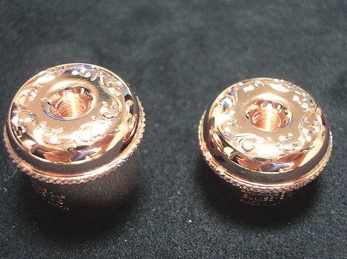 Bullseye Flute Balance Cap (head cap) Pink Gold plate