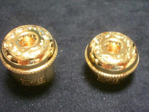 Bullseye Flute Balance Cap (head cap) Gold plate