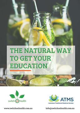 Natural Health Courses Naturopathy Course, Nutrition Course, Western Herbal Course, Homeopathy course