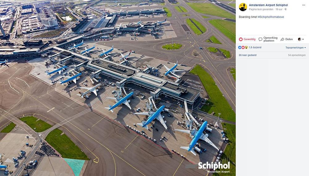 Luchtfoto Schiphol door luchtopname.nl