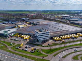 Luchtfoto's distributiecentrum Zeeman Alphen aan den Rijn