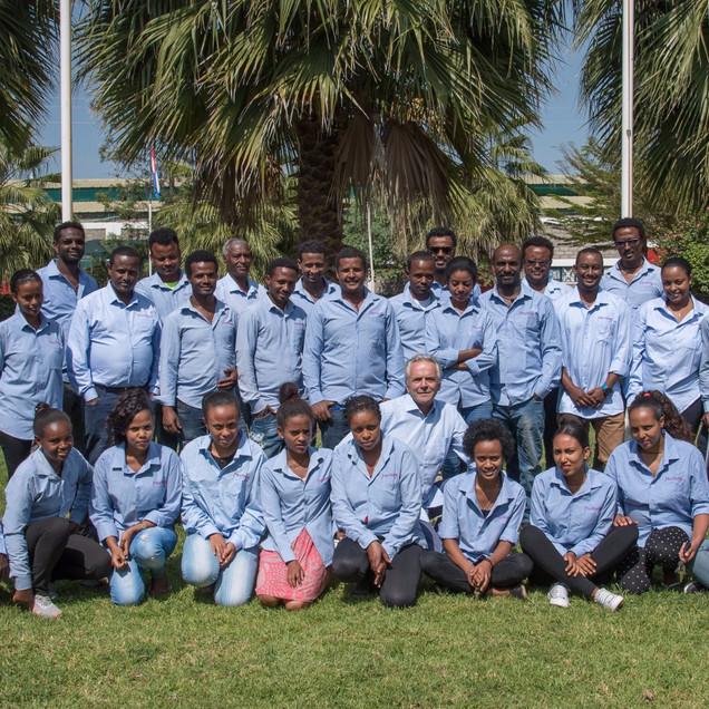 Team Herburg Roses Ethiopie