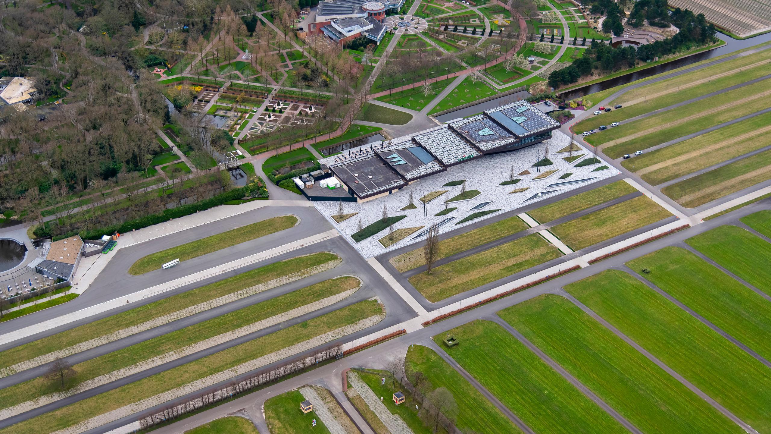 Luchtfoto Keukenhof 2020
