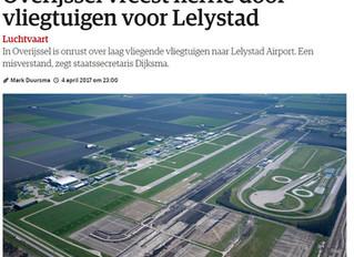 Publicatie luchtfoto's in media