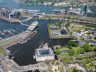 Luchtfoto's Amsterdam
