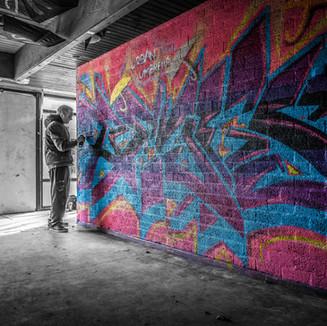 Graffiti by Bart van Kervinck